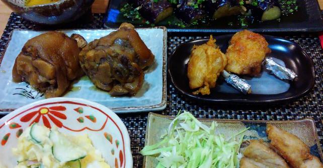 今日の夕食!!!